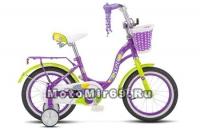 Велосипед 14 STELS JOLLY (1ск,рама 9.5,зад.ножн.торм.) арт V010 фиолетовый