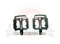 Педали Вело алюминий 93х78,6мм, МТВ, с подшипниками HUALONG (FP-958)