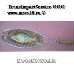 Решетка-барбекю овальной формы для рыбы