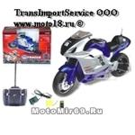 Модель мотоцикла спорт 3656 на РАДИОУПРАВЛЕНИИ, большая, Li-Ion, 800мА, зарядник (уп.18шт.)