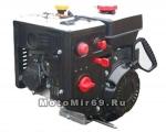 Двигатель LIFAN 6,5 л.с. 168F2D-S (168) зимний (снегоуборщики) (электростартер 220В вал 20 мм