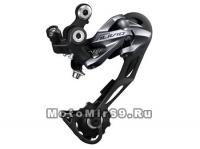 Переключатель передач задний Shimano Alivio M4000-SGS 9 ск, сверхнизкий профиль, черный, без уп