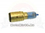 Лампа 12В 35/35Вт (H6) фарная галоген, с большим цоколем (BА20d) (Hanter) H6006 СИНЯЯ