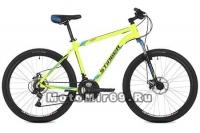 Велосипед 26 STINGER ELEMENT D (18ск,МТВ,рама ал.16,18,20, торм.диск.мехTZ30/TY21/TS38.) зеленый