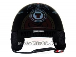 Шлем открытый ТORC T-54 Pinstripe Flat, размер М, для чопперов, скутеристов, мопедистов