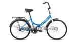 Велосипед 24 FORWARD ALTAIR CITY (складной,1ск,рама 16,ал.обода, багажник, усиленная рама) синий