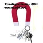 Держатель для ключей Магнит - на стену (в форме красно-белого магнита)
