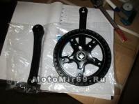 Шатуны 46Тх165 мм, черный (ESCWC-07)