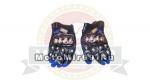 Перчатки PRO-Biker mcs-08 текстиль-кожа синие