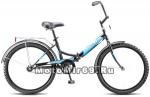 Велосипед 24 ДЕСНА 2500 (1ск, складной,рама сталь 14,торм.задний ножной)