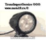 Фара светодиодная доп. света JT-1540 круглая 4 диода, 67 мм, точечный, 3500LM, 9-32В