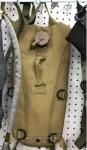 Поильник-рюкзак ВЕЛО/МОТО, песочный (с емкостью для воды и длинным шлангом, можно пить на ходу)