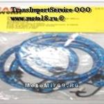 Резинка для крепления багажа (1штx1м) с крюками