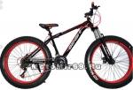 Велосипед 26 BENSHI, фэтбайк (26х4,00), 21 ск., передняя и задняя подвеска, дисковые тормоза