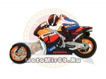 Флэшка 4Gb (USB) в виде спорт. мотоц. HONDA (вынимается пер. колесо-флэшка), в красивой коробочке
