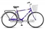 Велосипед 28 STELS Navigator-300 Gent + КОРЗИНА (дорожный,1ск,рама сталь 20,торм.ножной,арт.15)