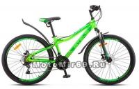 Велосипед 26 STELS Navigator-510 MD(21ск,рама сталь 14, 16,ам.вилка сталь,дв.ал.обод,мех.диск.тр)