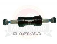 Каретка-картридж KENLI MTB BK 1,37х24T L/R ,68/127mm, (KL-09A) аллюминевый корпус, аллюм. чашки ,