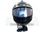 Шлем модуляр TANKED T-200В BLUETOOTH, размер M, (БЛЮТУЗ поднимается подбородок)