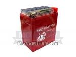 Аккумулятор герметичный 12В 7А/ч, GEL (Red Energy DS 1207.1) , с индикатором (HONDA)(114x71x131)