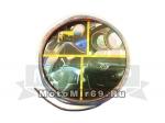 Лента декоративная на клейкой основе для украшения салона или кузова М002Н, синяя