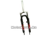 Вилка аморт. 26 ZOOM 430, пружина, шток 1-1/8, алюминий/сталь, ход 60мм, тормоза: D/V, дропа