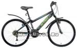 Велосипед 24 FORWARD ALTAIR MTB HT 1.0 (6ск, рама 14сталь,пласт.крылья) бирюзов.,мат.черный