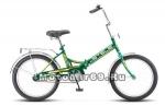 Велосипед 20'' STELS PILOT-410 (складной,1ск,рама сталь15, 13,5 ,торм.ножной,багаж,зв)