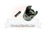 Поршень 43,00 мм 2 такт.скутер Yamaha JOG60 /Stels/1E40QMB палец 12 мм