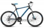 Велосипед 26 STELS Navigator-650 MD (21ск,рама ал16,17,5,18,20,ам.вил,дв.обода) черный/синий
