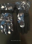 Перчатки зимние утепленные снегоход/лыжи, текстиль+кожзам. HEAD TP802