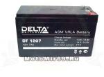 Аккумулятор герметичный 12В 7А/ч, AGM (Delta DT 1207) (150х65х90) для электро машинок
