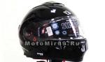 Шлем модуляр зима/лето со сменным подогреваемым визором SHIRO SH-501 (р-р XXL)