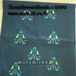 Платок-трансформер типа BUFF(как Евро) универс., рис. Цветок (платок, шарф, бандана, и т.п.)