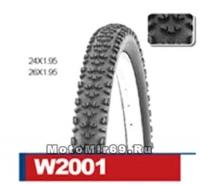 Велопокрышка WANDA, 26х1,95 модель W2001