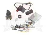 Комплект для переустановки контроллеров (контроллер 500W, пакетный переключ. ручка газа)