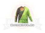 Толстовка-кросс SCOYCO Т 205 зеленая с черным
