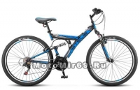 Велосипед 26 STELS FOCUS V 21 SP (2х.подв,21ск,рама сталь 18,аморт.вилка,ал.обода,тормоза V-тип)