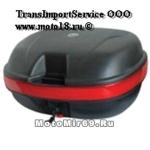 КОФР (премиум) мотоциклетный 40л с ручкой матовый (на 2 шлема) ZH-999 (уп.2 шт.)