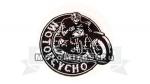 Нашивка Motorcycho - мотопсих 15321167
