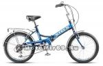 Велосипед 20'' STELS PILOT-450 (складной, 6ск,рама сталь 13,5,15,торм.ножной,багаж,насос,звонок)