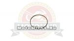 Ручки руля, рисунок красные кольцевые полоски на черном фоне (3428378A)