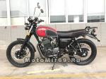 Мотоцикл COMBAT SCRAMBLER 400 (серый-красный-черный)