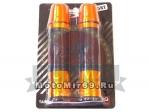 Ручки руля цветные HF4066 металл резина