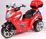 МАШИНКА детская, типа Мотоцикл, дв. 12Вт, акк. 6В 4.5Ач, макс 3км/ч, 8,5 кг (ZP5119) арт. SX1128
