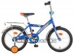 Велосипед 12 NOVATRACK TWIST (1-ск, тормоз нож.,крылья цвет,багажник хр) 117055 синий