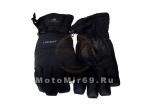 Перчатки зимние утепленные снегоход/лыжи, текстиль+кожзам. HEAD TP801