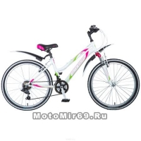 Велосипед 26 STINGER LATINA D (21ск,рама 17алюм.спл., TZ30/TY21/TS-38) белый