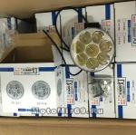 Фара светодиодная, круглая, c кронштейном, диаметр 8,5 см, 12V-80V , 8 SMD