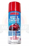 Смазка-спрей белая литиевая ABRO LG-380